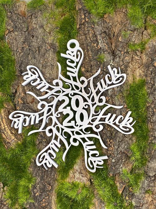 F 2020 Ornament