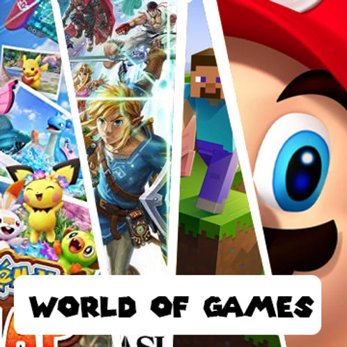 World of Games  July 19th- 23rd