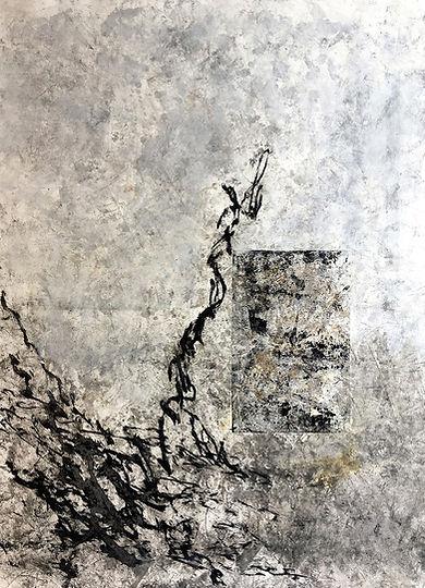 Peinture sur papier encre acrylique