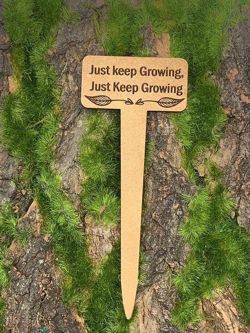 JUST KEEP GROWING