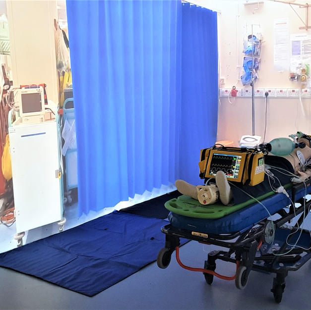 The resuscitation bay immersion suite scenario