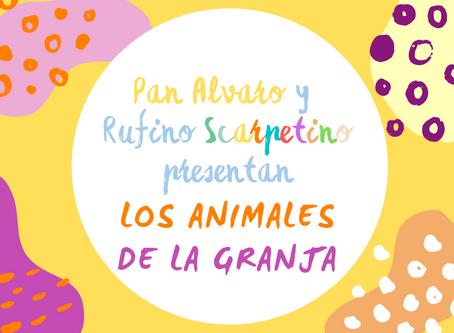 VIDEO i karty pracy: Pan Alvaro i Rufino: ZWIERZĘTA NA FARMIE