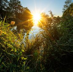 Sunset on Water II