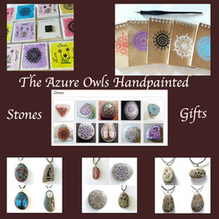The Azure Owls Handpainted Stones & Gifts
