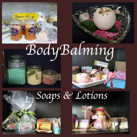 Body Balming Soaps & Lotions