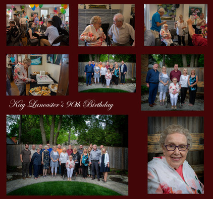 Kay Lancater 90th Birthday