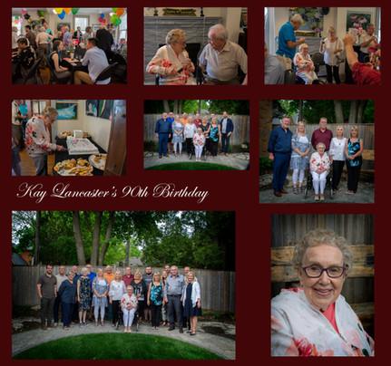 Kay Lancater 90th Birthday