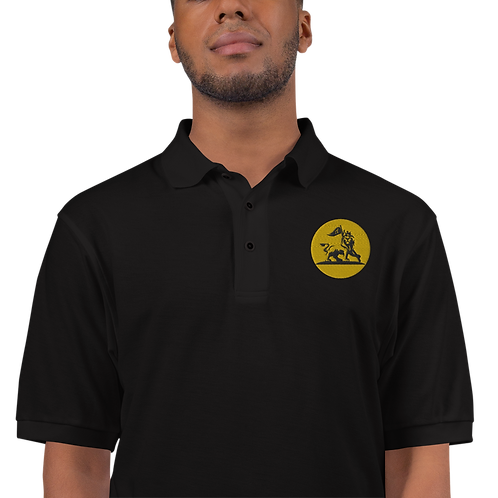 Embroidered Stand Strong Polo