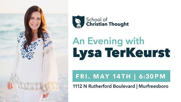 An Evening with Lysa TerKeurst