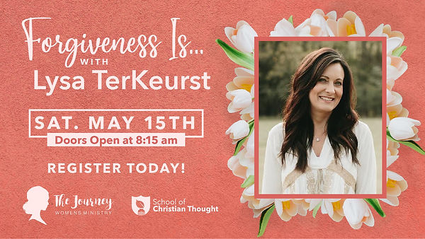 Forgiveness Is... with Lysa TerKeurst