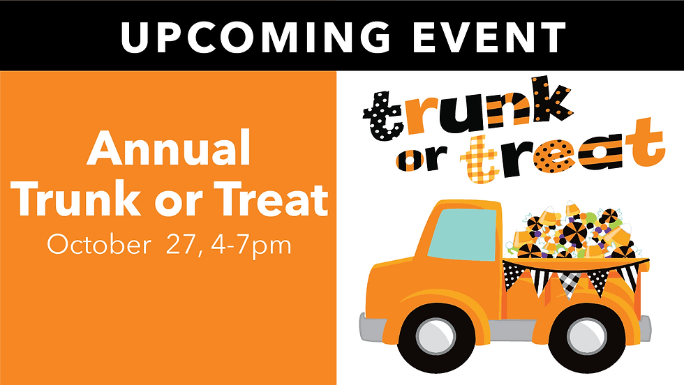 Trunk or Treat! - East Campus