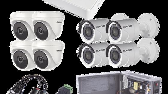 Kit 8 Cámaras 720p CCTV