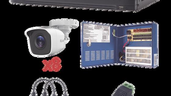 Kit 8 Cámaras 1080p CCTV