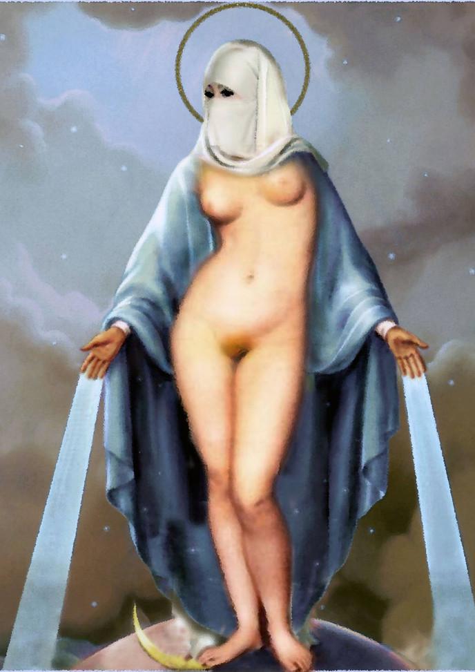 nude burka mary