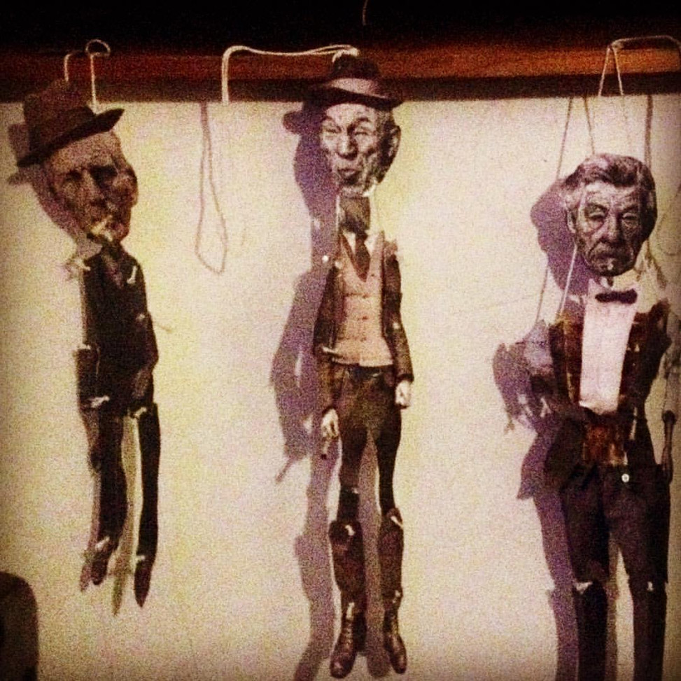 the samuel beckett puppet theatre