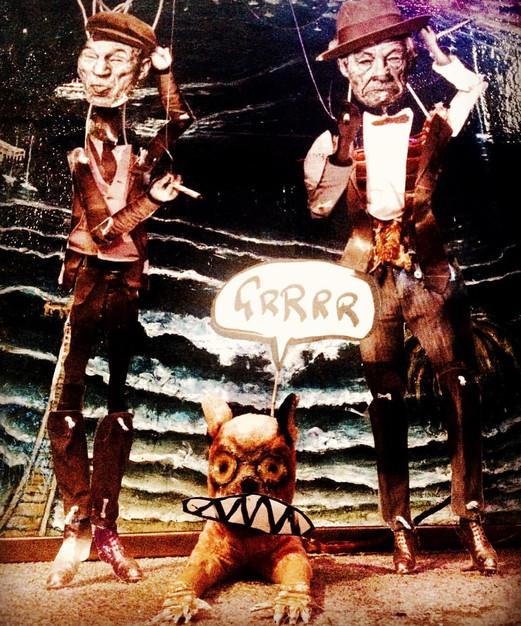 the samuel beckett puppet theatre