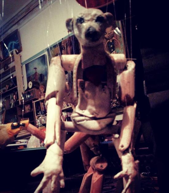 bear puppet