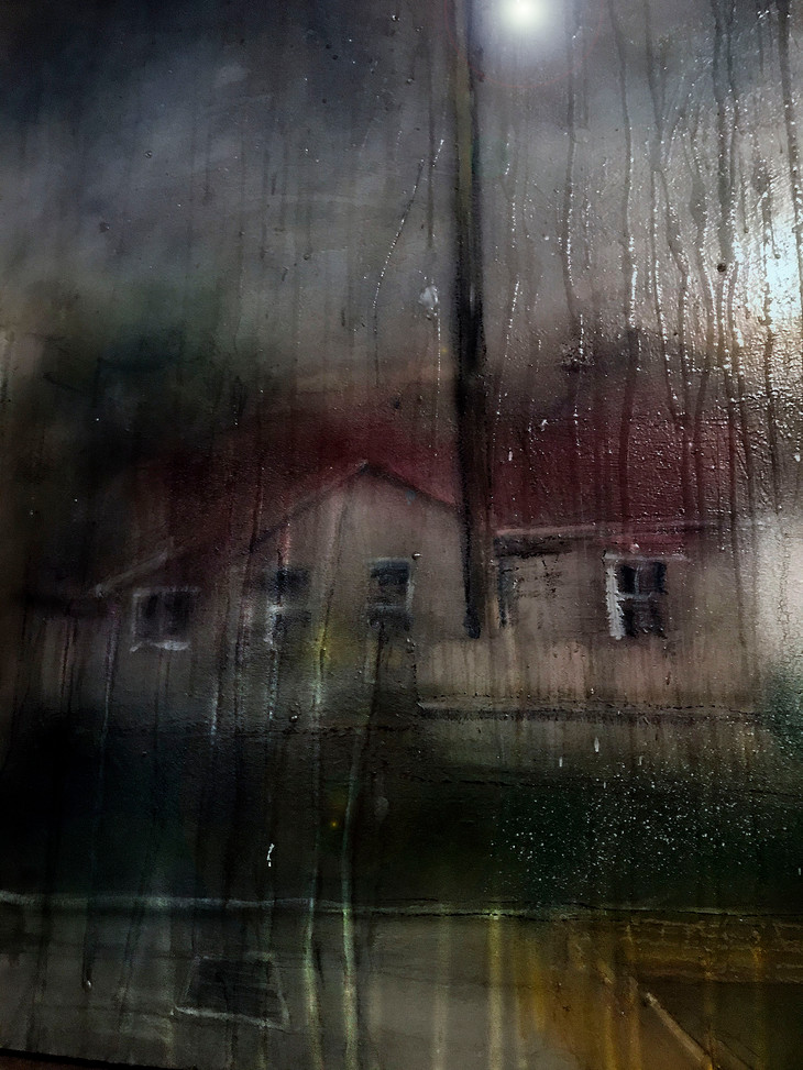 kitson street in the rain