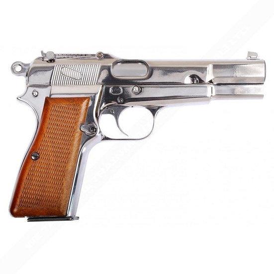 """WE-Tech P35 """"Hi-Power"""" Airsoft GBB Pistol SV"""