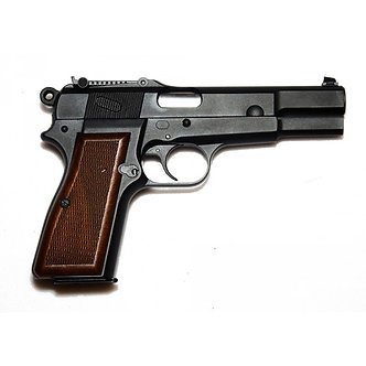 "WE P35 ""Hi-Power"" GBB Airsoft Pistol BK"