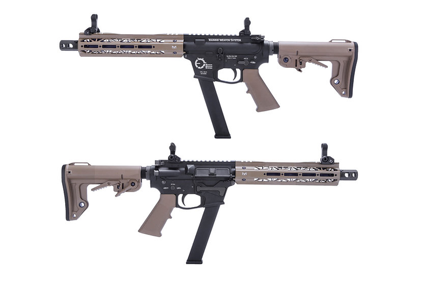 King Arms TWS 9mm Carbine GBB Airsoft SMG