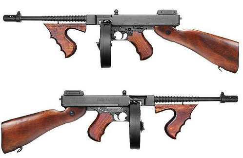 King Arms M1928 Chicago Real Wood AEG Airsoft SMG