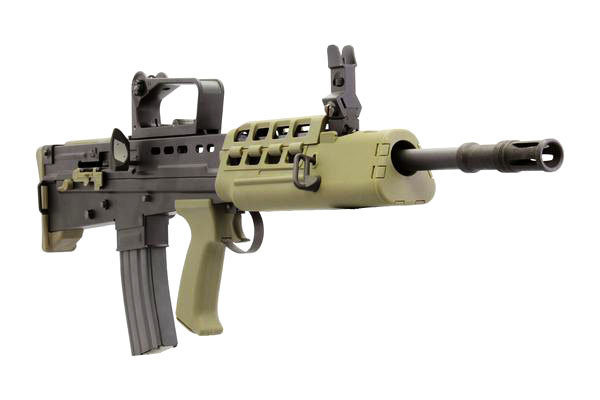 Upgraded WE L85 GBB Airsoft Rifle