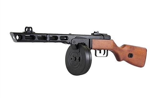 Upgraded S&T PPSh-41 Airsoft AEG SMG  (EBB disabled)