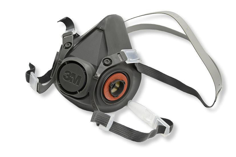 3M 6000 series Half Face Gas Mask Set