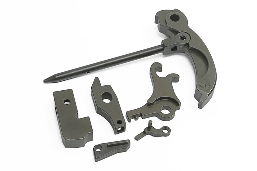 Z-Parts Complete Steel Trigger Set for WE APACHE/MP5 GBB
