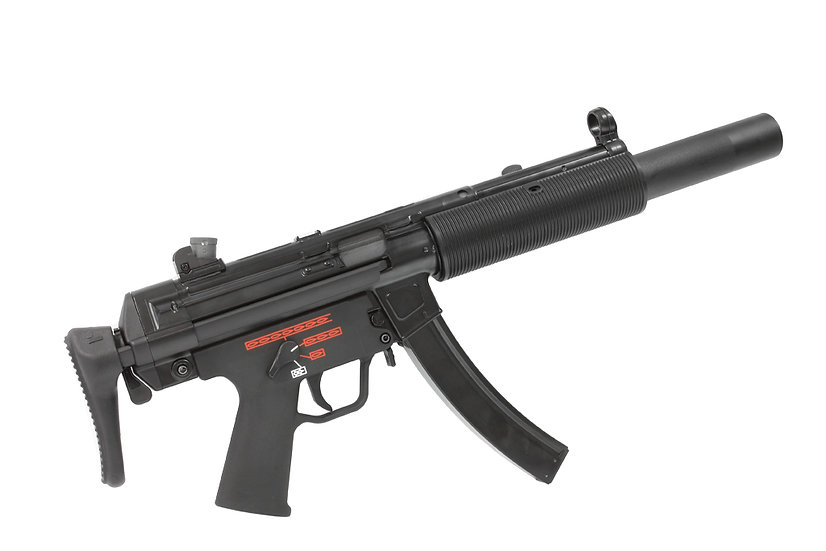 Upgraded WE-Tech MP5 SD3 Airsoft GBB