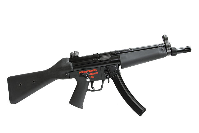 Upgraded WE MP5A2  Apache Airsoft GBB SMG