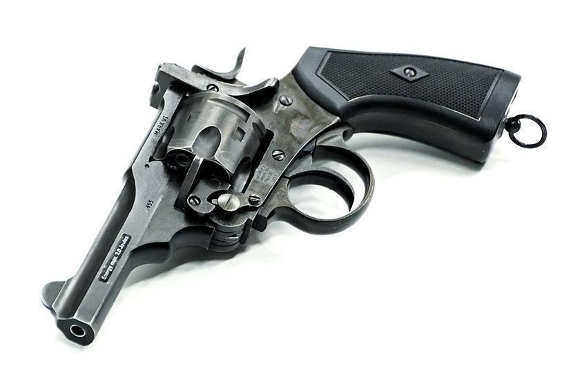 "WG Webley MK VI 4"" CO2 Airsoft Revolver Weathered"