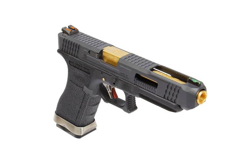 Upgraded WE-Tech G34 T1 Airsoft GBB Pistol ( IPSC companion )