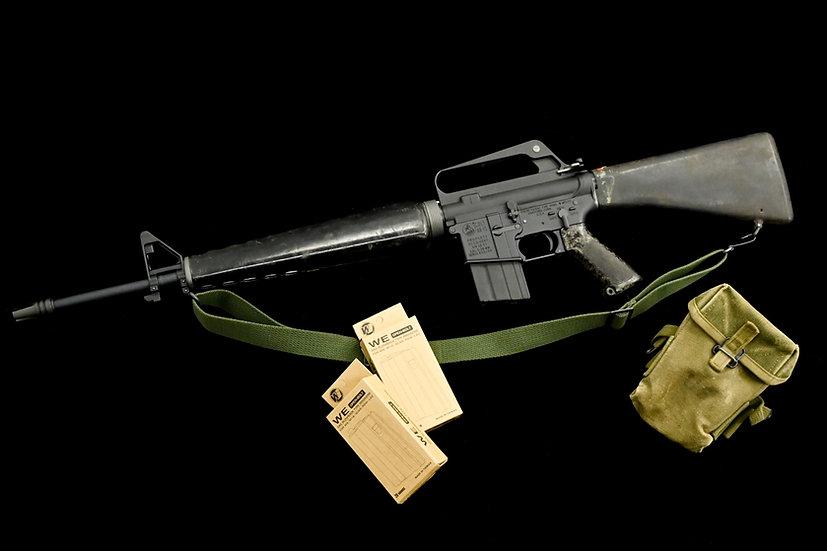 """Anubis-Custom """"Veteran Pack"""" XM16E1(M603) GBB Airsoft Rifle"""