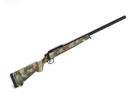 Upgraded Leaf Camo VSR 10 Airsoft Sniper Rifle ( Double Bell )