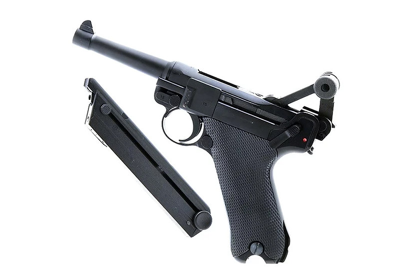 WE Luger P08 Airsoft GBB Pistol