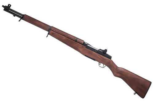 Upgraded G&G M1 Garand AEG Rifle with Real Wood Stock