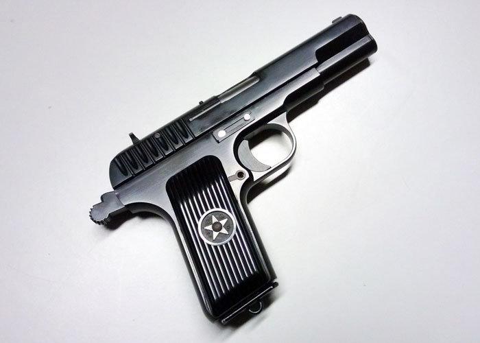 Upgraded WE-Tech TT33 Airsoft GBB Pistol
