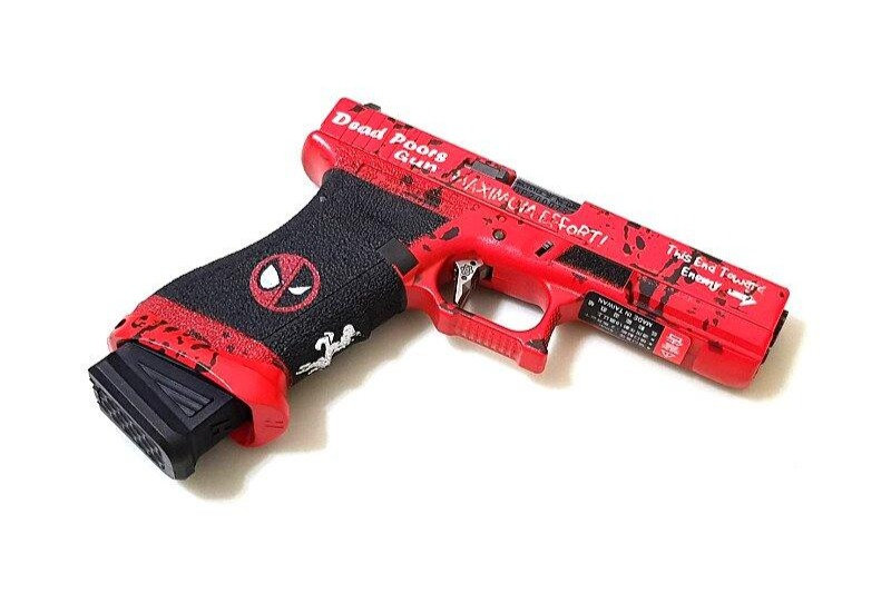 WE G17 Dead-Pool GBB Airsoft PIstol