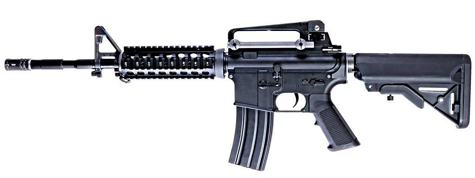 Upgraded WE-Tech M4 RIS Full Metal Airsoft AEG Rifle