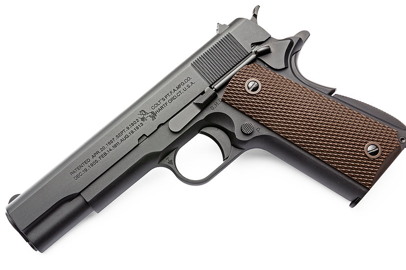 Cybergun Colt Licensed 1911 Airsoft Pistol by AW (BK)
