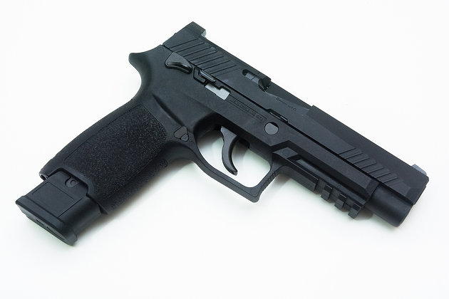 Upgraded A.E.G. P320 F17 Airsoft Pistol By WE