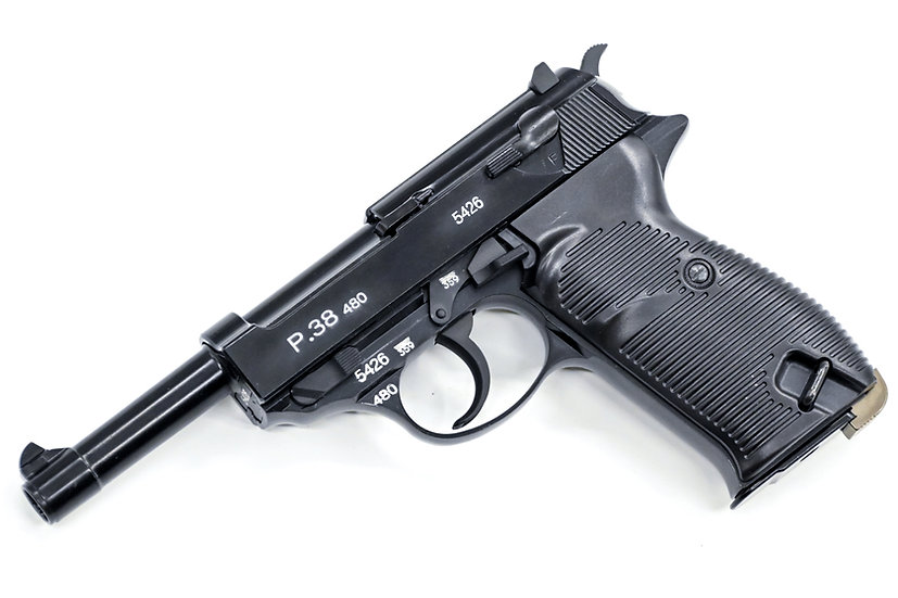 Upgraded WE P38 GBB Airsoft Pistol