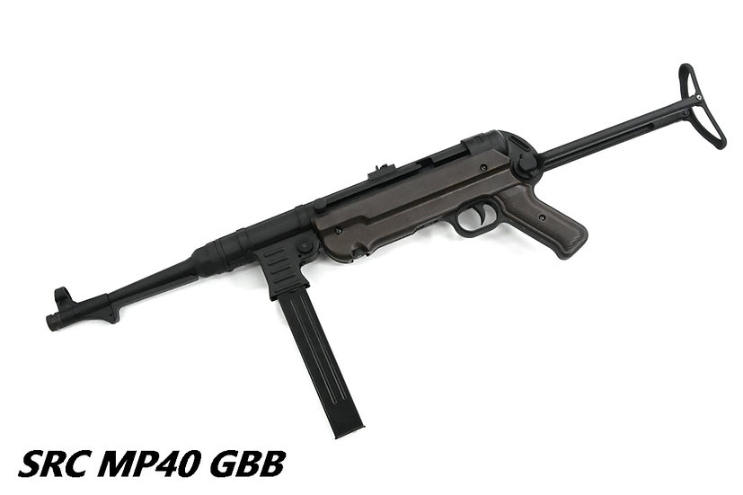 SRC MP40 GBB CO2 Airsoft SMG