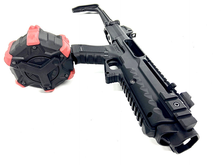 War Horse - Upgraded WE G18 Airsoft SMG Set