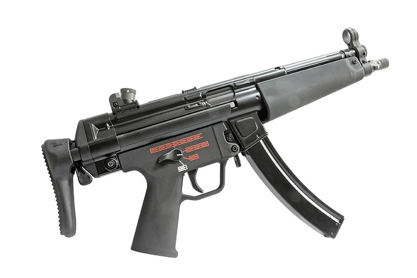Upgraded WE-Tech MP5A3 Apache Airsoft GBB SMG