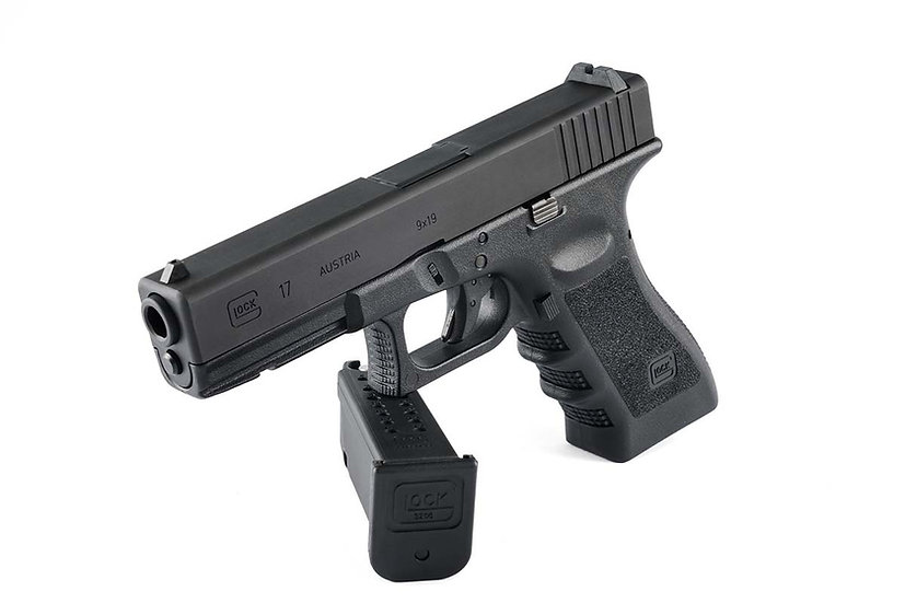 GHK Glock17 Gen3 Steel Airsoft Pistol