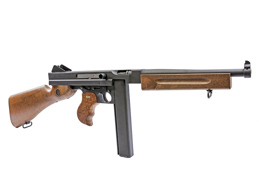 Upgraded WE M1A1 Thompson GBB Lv.1