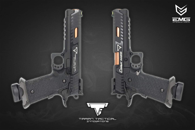 Upgraded EMG TTI 2011 Combat Master Airsoft Pistol